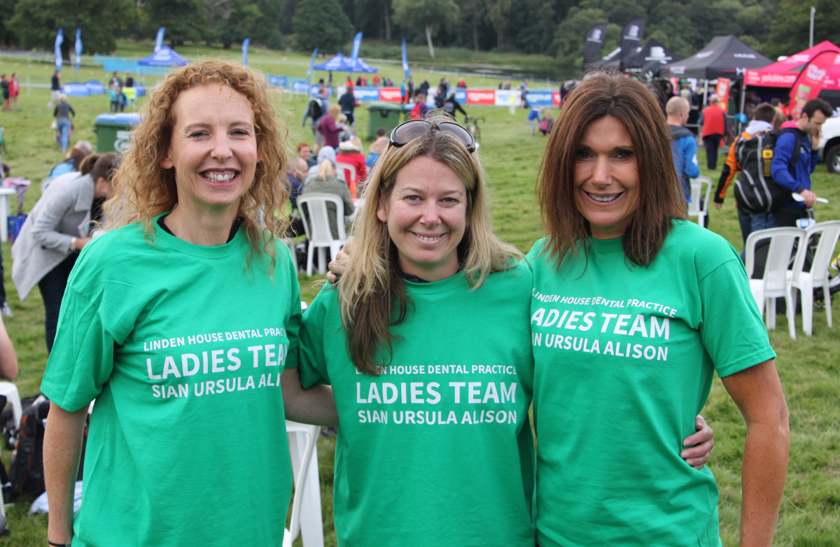 Congratulations to Linden House Ladies Triathlon Team